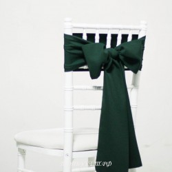 Бант на стул #0018 - Аренда бантов на свадьбу