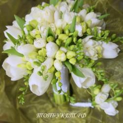 Свадебный букет невесты #0099