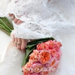 Свадебный букет невесты #0102