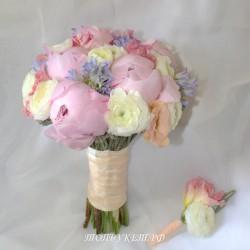 Свадебный букет невесты #0104