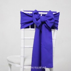 Бант на стул #0019 - Аренда бантов на свадьбу