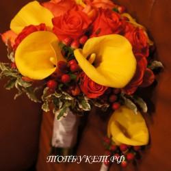 Свадебный букет невесты #0105