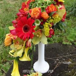 Свадебный букет невесты #0108
