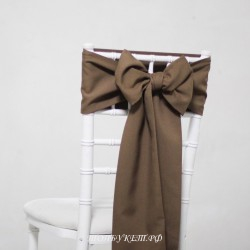 Бант на стул #0020 - Аренда бантов на свадьбу