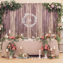 Свадебное оформление №0013 ( Свадебный декор )