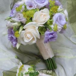 Свадебный букет невесты #0109