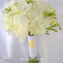 Свадебный букет невесты #0112