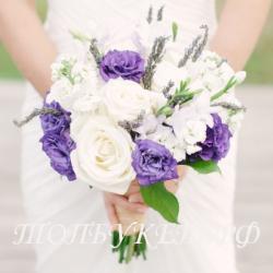 Свадебный букет невесты #0028