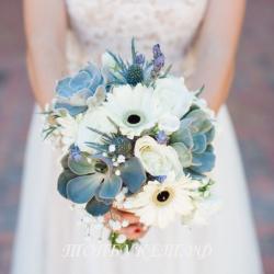Свадебный букет невесты #0022