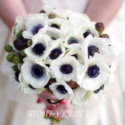 Свадебный букет невесты #0027