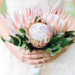 Свадебный букет невесты #0032