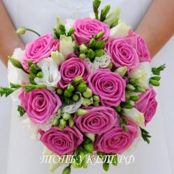 Свадебный букет невесты #0029