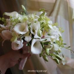 Свадебный букет невесты #0114