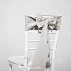 Бант на стул #0022 - Аренда бантов на свадьбу