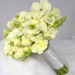 Свадебный букет невесты #0116