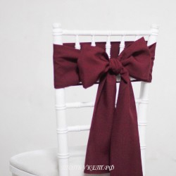 Бант на стул #0025 - Аренда бантов на свадьбу