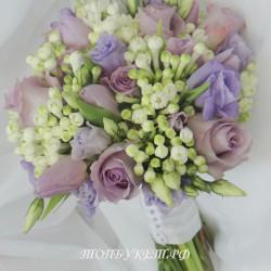 Свадебный букет невесты #0129
