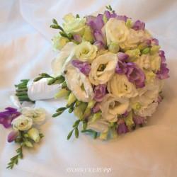 Свадебный букет невесты #0131