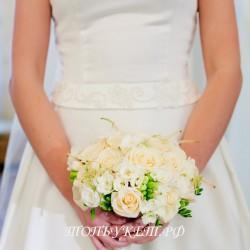Свадебный букет невесты #0134