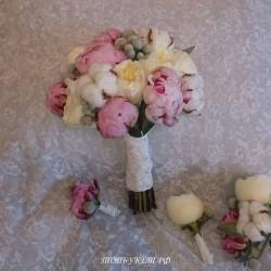 Свадебный букет невесты #0047