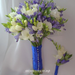 Свадебный букет невесты #0133