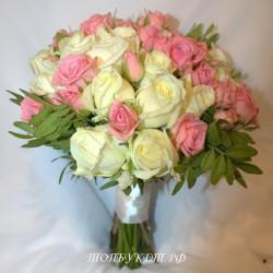 Свадебный букет невесты #0013