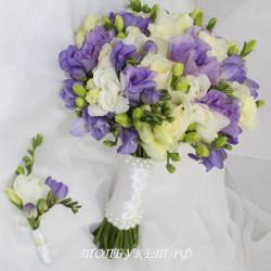 Свадебный букет невесты #0068
