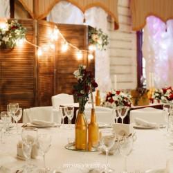 Свадебное оформление №0031 ( Свадьба в коттедже )