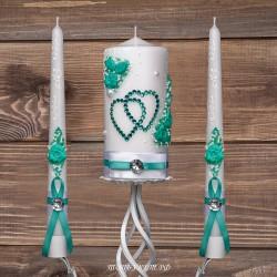 Купить свадебные свечи №0008 ( Семейный очаг )