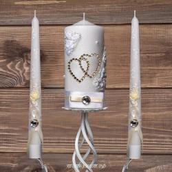 Купить свадебные свечи №0004 ( Семейный очаг )