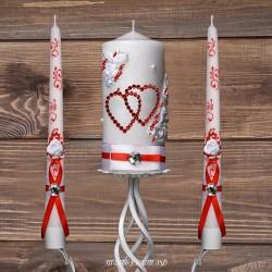 Купить свадебные свечи №0005 ( Семейный очаг )