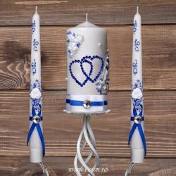 Купить свадебные свечи №0006 ( Семейный очаг )