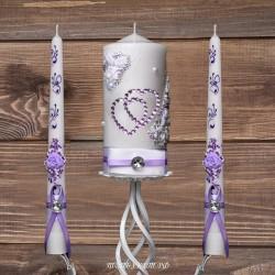 Купить свадебные свечи №0007 ( Семейный очаг )