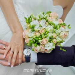 Свадебный букет невесты #0034