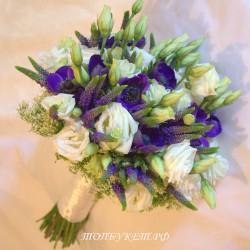 Свадебный букет невесты #0077