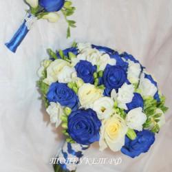 Свадебный букет невесты #0079