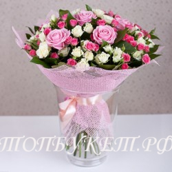 Доставка букетов  из цветов #0034 ( Санкт-Петербург )
