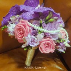 Свадебный букет невесты #0078