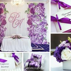 Свадебное оформление №0018 ( Свадебный декор )