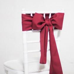 Бант на стул #0013 - Аренда бантов на свадьбу