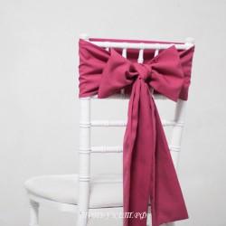 Бант на стул #0014 - Аренда бантов на свадьбу