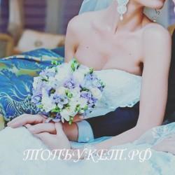 Свадебный букет невесты #0036