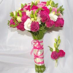 Свадебный букет невесты #0089