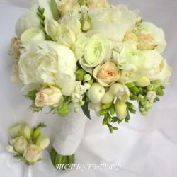 Свадебный букет невесты #0090
