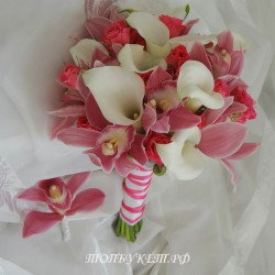 Свадебный букет невесты #0095