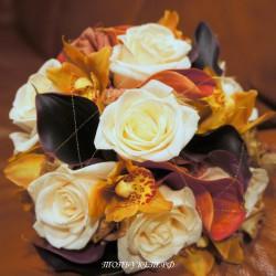 Свадебный букет невесты #0096