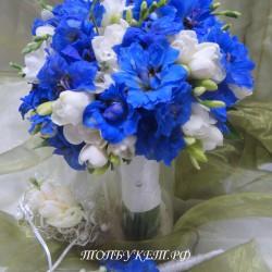 Свадебный букет невесты #0101