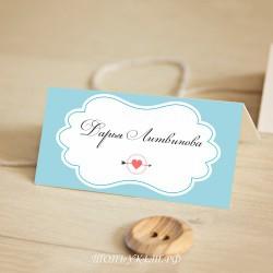 Свадебные Рассадочные карточки #0018