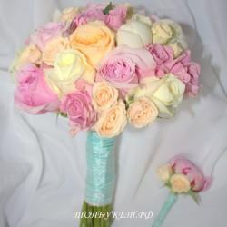Свадебный букет невесты #0107