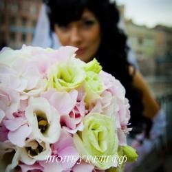 Свадебный букет невесты #0110